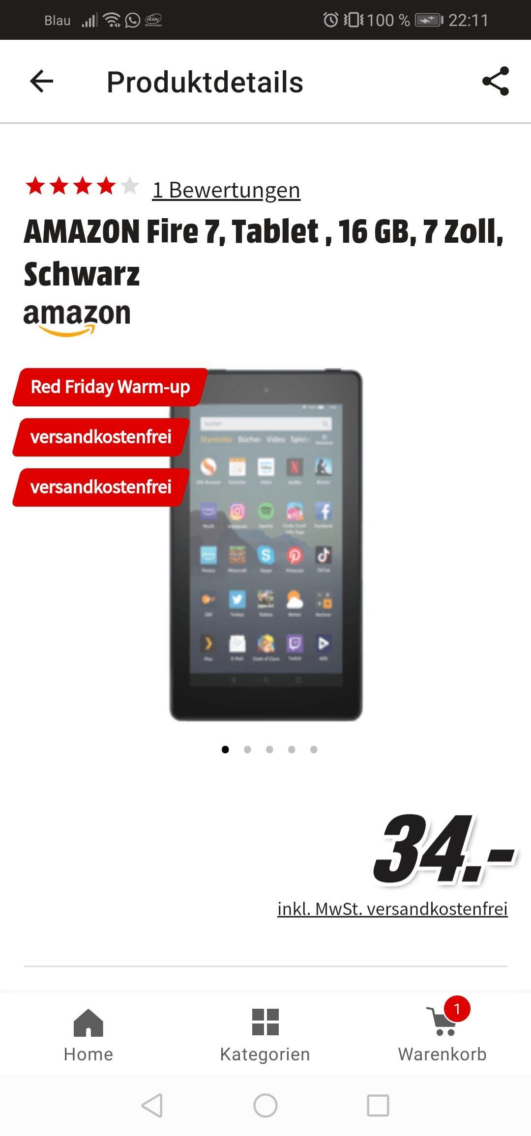 "Amazon fire Tablet 7"""