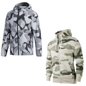 Camouflage Sale, zB Nike Jacke Club BB in 3 Farben