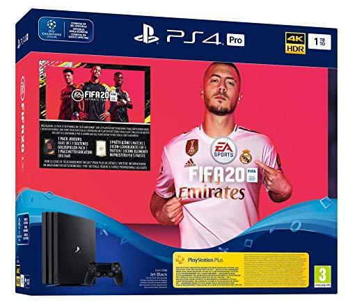 PlayStation 4 Pro CHU 7216B - Konsole (1TB) inkl. FIFA 20 für 299,99€ --- PS4 Pro 1TB, A Chassis (Generalüberholt) für 249€ [Amazon]