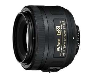 Nikon AF-S DX Nikkor 35mm 1:1,8G Objektiv (Amazon)