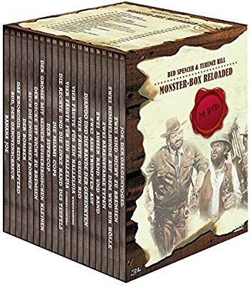 [AMAZON] Bud Spencer & Terence Hill - Monster-Box Reloaded Standard Version 20 DVD's