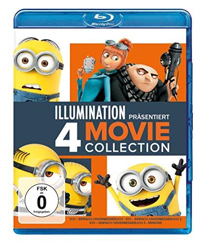 Ich - Einfach unverbesserlich 1-3 + Minions 4-Filme Collection (Blu-ray + UV Copy) für 16,97€ (Amazon Prime)