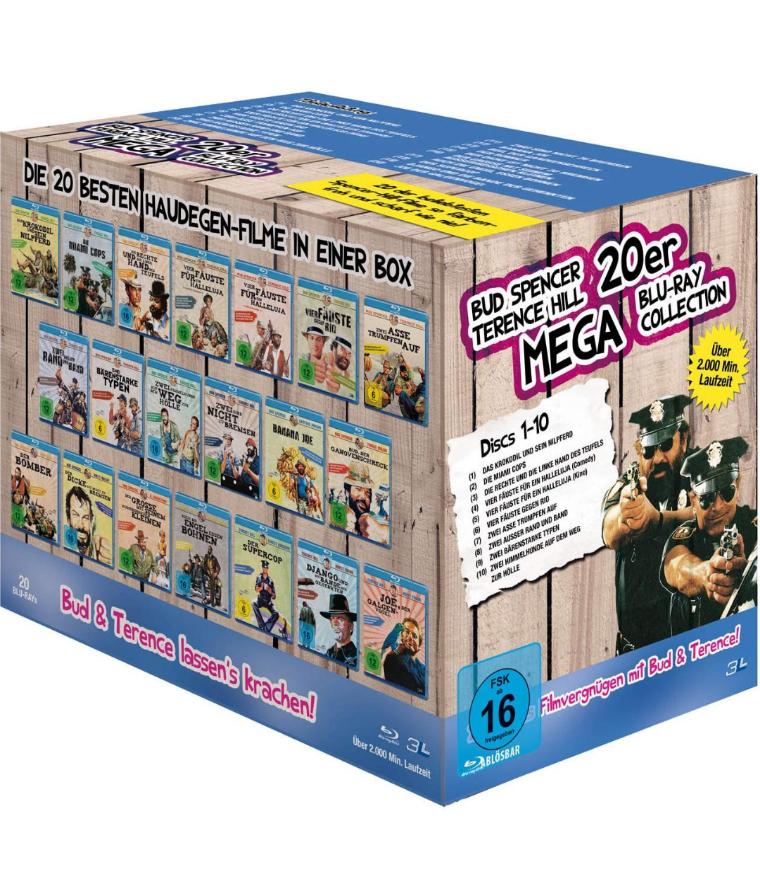 Bud Spencer & Terence Hill 20er Mega Blu-ray Collection