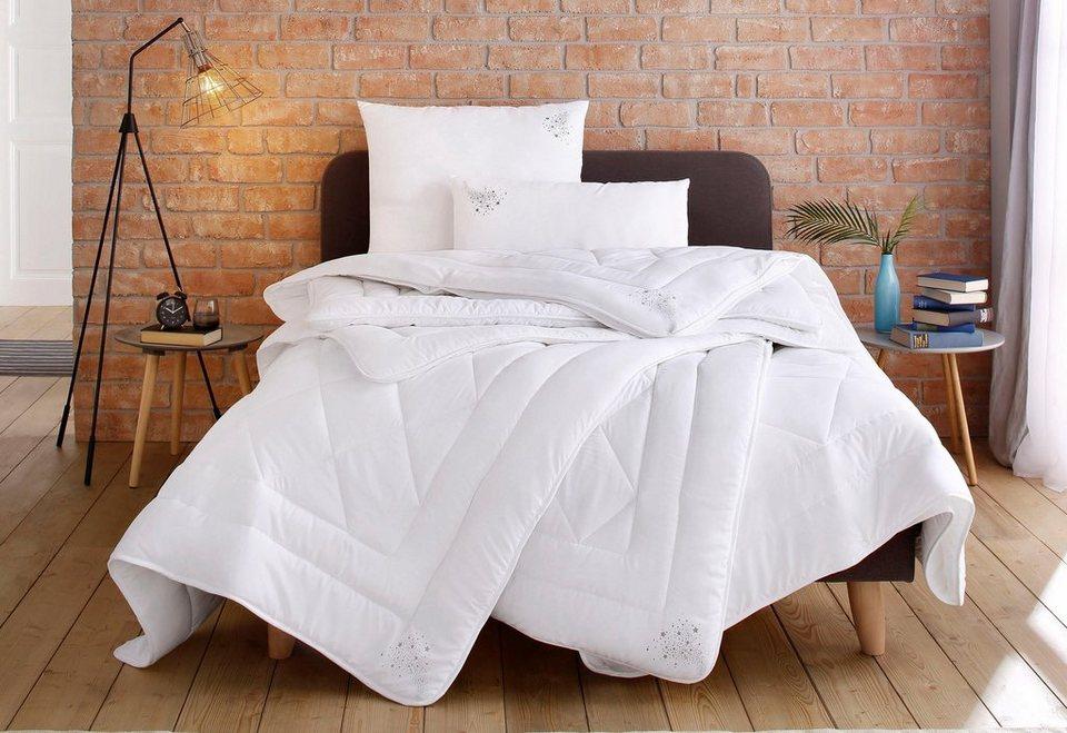 Kunstfaserbettdecke, »Jan«, RIBECO, warm (Bettdecke für den Winter); verschiedene Größen erhältlich