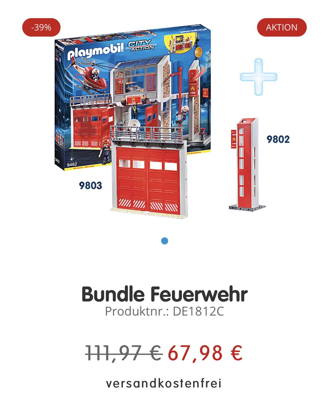 Playmobil Feuerwehr Wache + 2 Erweiterungen