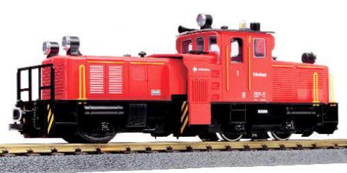 Modelleisenbahn LGB Schienenreinigungslok Spur G
