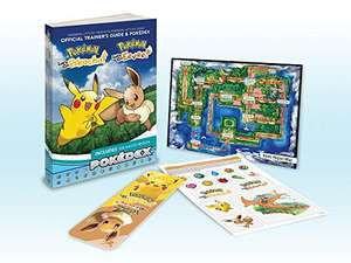 Pokémon: Let's Go, Pikachu! & Pokémon: Let's Go, Eevee! - Lösungdbuch + Pokedex (englisch)