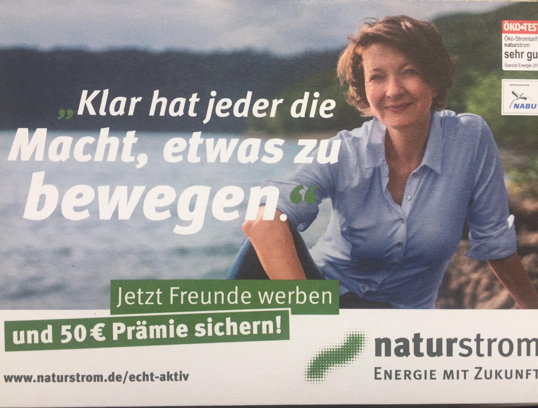 Kwk Naturstrom Aktion 50€ für beide