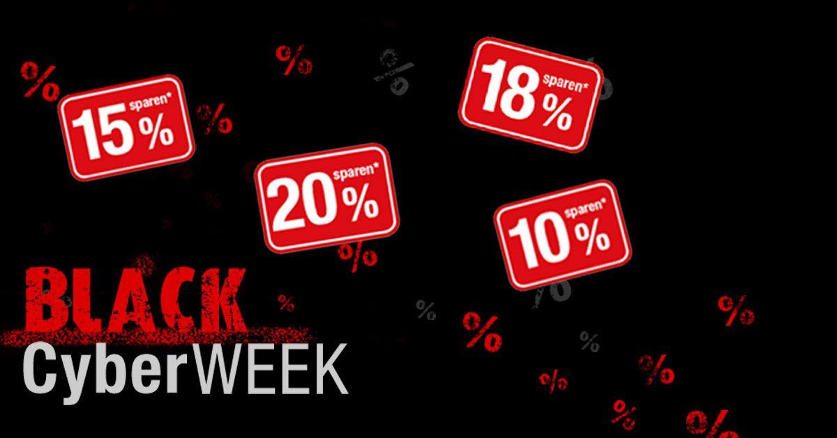 Black-Cyber Week bei Bücher.de mit bis zu 20% Rabatt