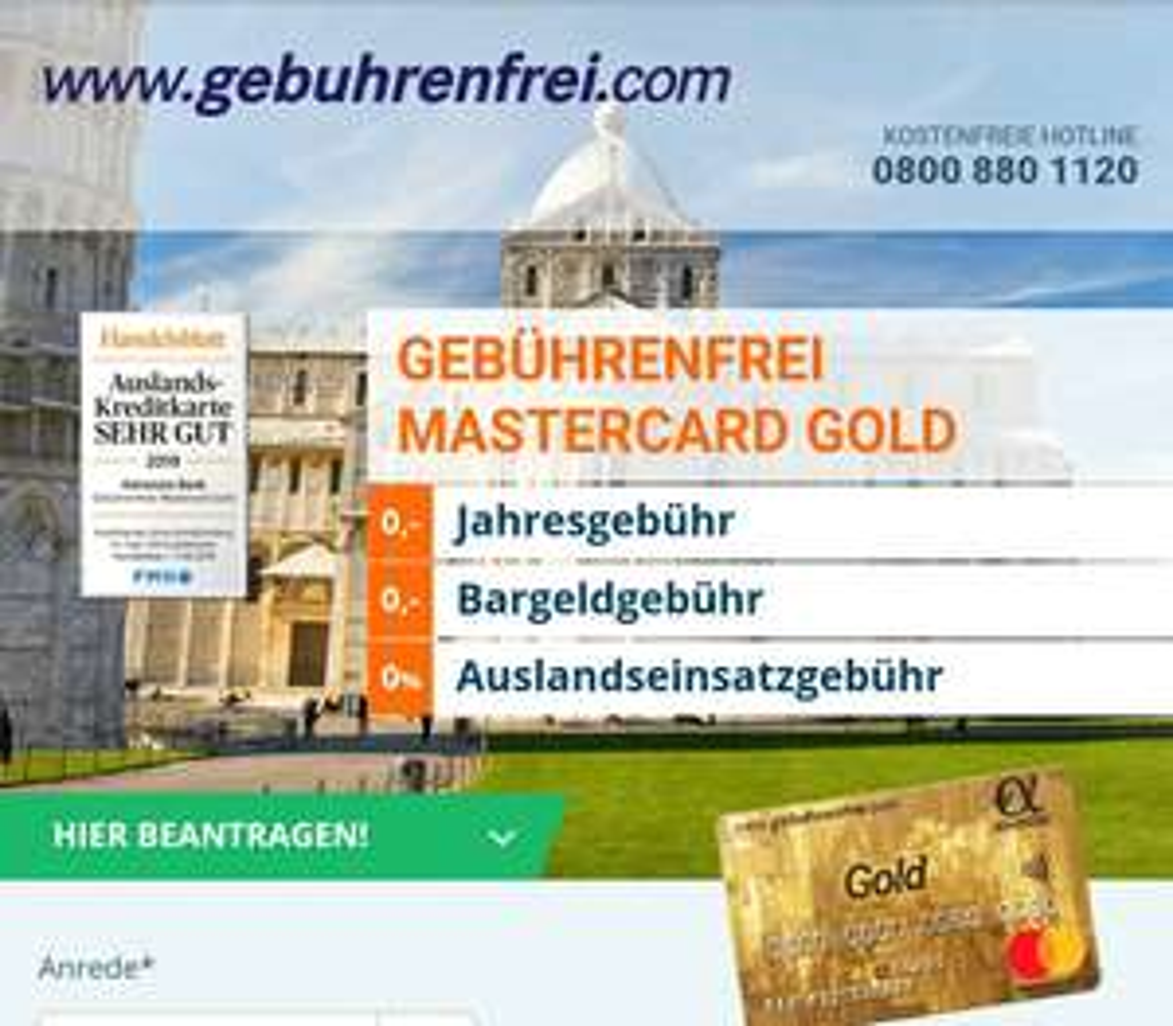 Advanzia gebuhrenfrei Kreditkarte: Kunden werben Kunden mit je 40€ für Werber und Geworbenen