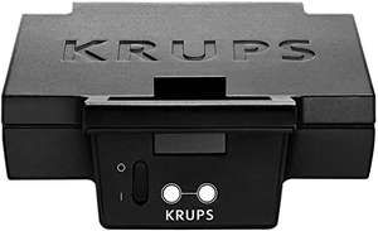 [Famila offline] KRUPS FDK451 Sandwich-Toaster 850 Watt, schwarz, 25 x 12 cm