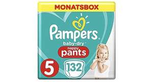 Pampers Babydry Pants Monatsbox Amazon