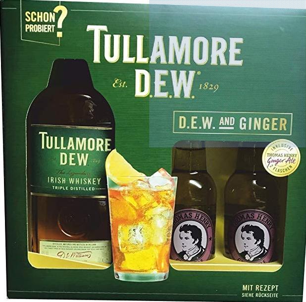 Kaufland - Tullamore Dew im Set mit 2 Flaschen Thomas Henry Ginger Ale