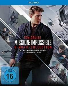 Mission: Impossible - The 6 Movie Collection (Blu-ray) für 24,97€ (Amazon Prime)