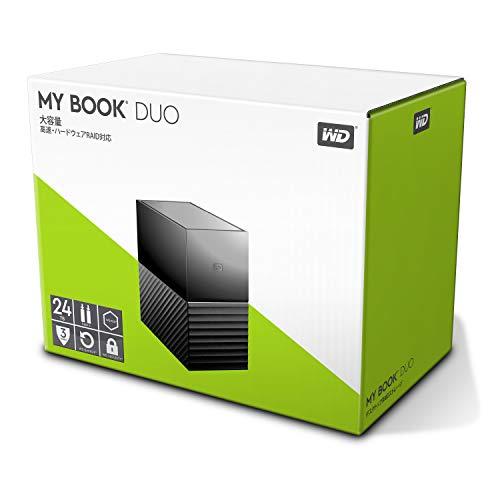 Western Digital My Book Duo 24TB (2x 12TB WD Red) USB 3.1 (WDBFBE0240JBK-EESN)