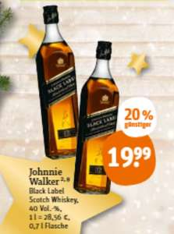 [tegut] Johnnie Walker Black 0.7 l