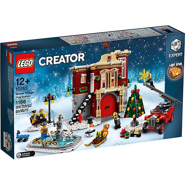 [myToys-App] LEGO 10263 Creator Winterliche Feuerwache