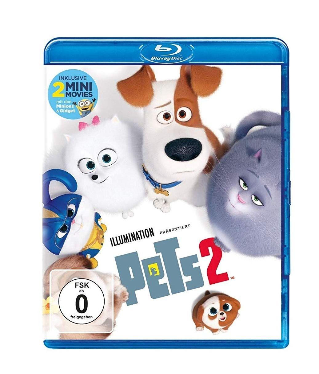 [Amazon Prime] Pets 2 - Blu-ray (3D für 14,97 €, DVD für 9,97 €)