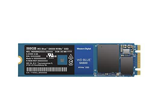 Western Digital WD Blue SN500 NVMe SSD interne Festplatte 500 GB