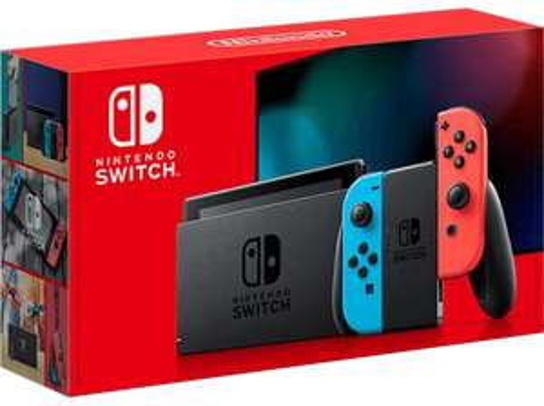 Nintendo Switch Grau / Rot-Blau + Labo Fahrzeugset (Lokal AT)