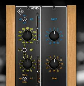 Fuse Audio Labs RS-W2395C (Baxandall EQ, VST)