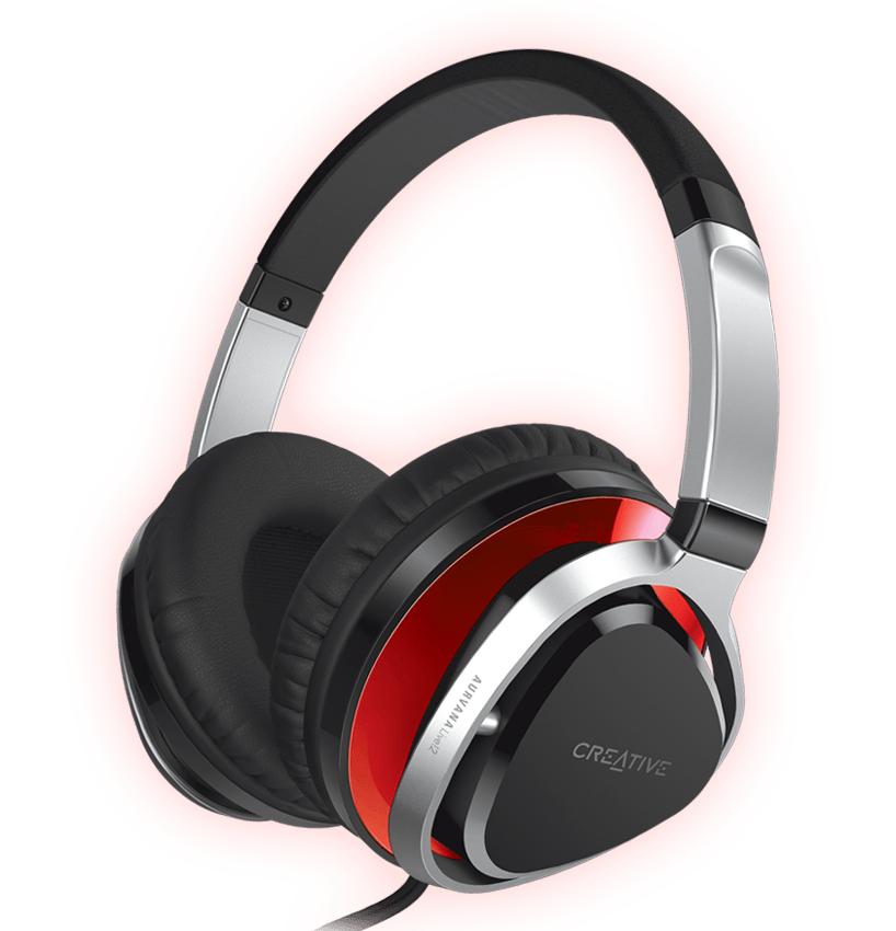 Creative Aurvana Live!2 Over Ear Kopfhörer - Schwarz oder Rot