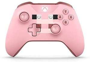 Microsoft Xbox Wireless Controller, Minecraft Rosa, Limited Edition [Amazon]