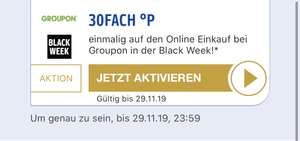 Payback Groupon 30 Fache Punkte