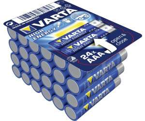 VARTA High Energy 24 Stück Vorratspack (AA oder AAA) für jeweils 6,99 Euro [Kaufland]