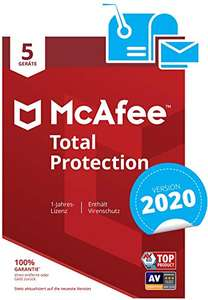 McAfee Total Protection 2020 (5 Geräte)