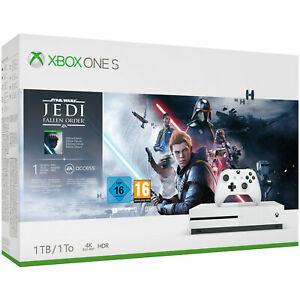 MICROSOFT Xbox One S 1TB – Star Wars Jedi: Fallen Order Bundle für 159,79€ mit Click&Collect [MediaMarkt ebay]