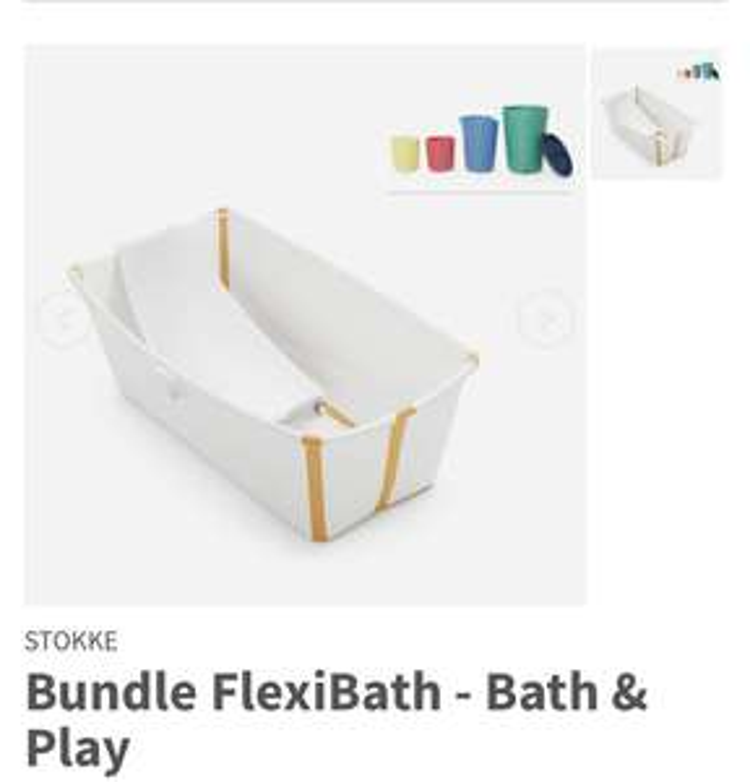 Stokke Bundle FlexiBath - Bath & Play