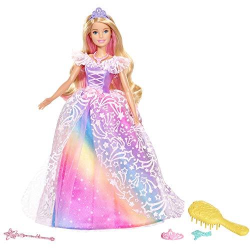 Barbie Dreamtopia Ballkleid Prinzessin Puppe mit blonden Haaren, Puppen Spielzeug und Puppenzubehör