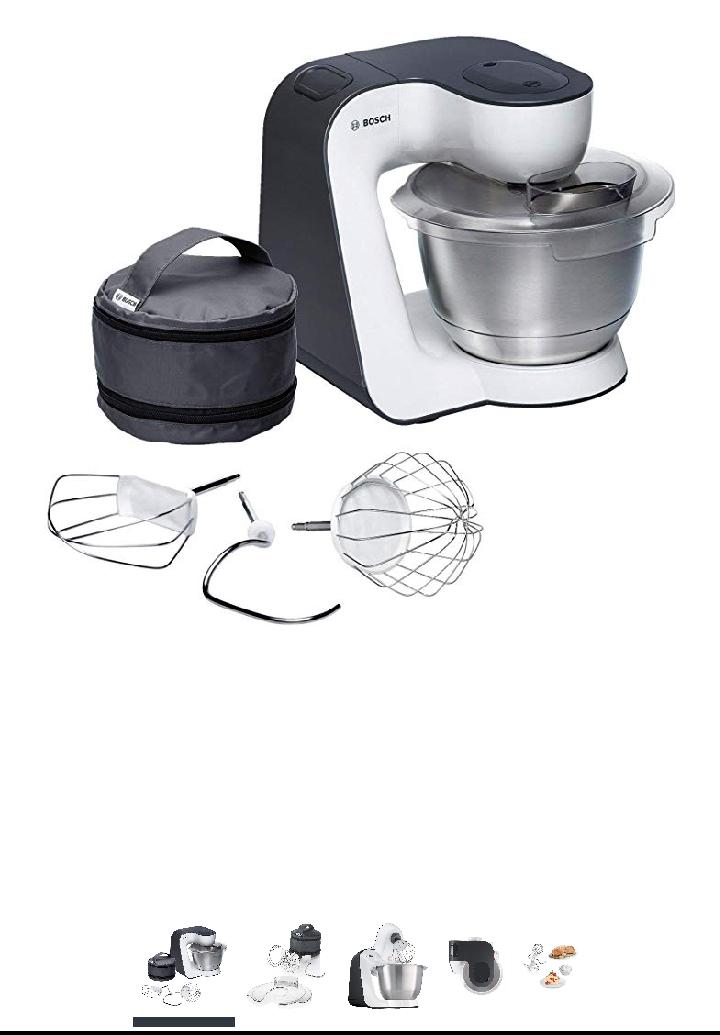 [Amazon.fr] Bosch MUM5 MUM54A00 Küchenmaschine StartLine weiß grau BESTPREIS