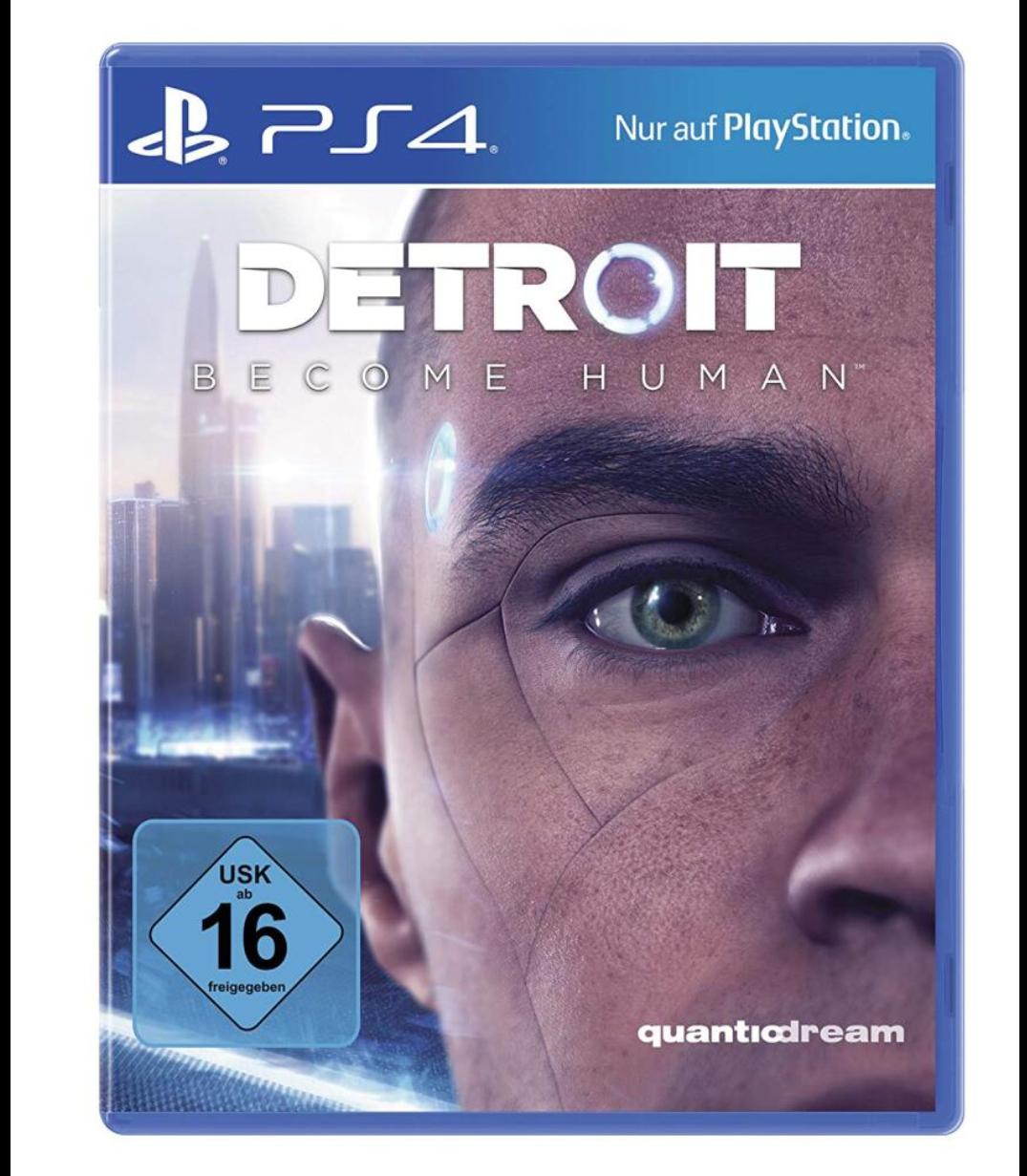 Detroit become Human Ps4 [Media Markt&Saturn - Paydirekt/Abholung]