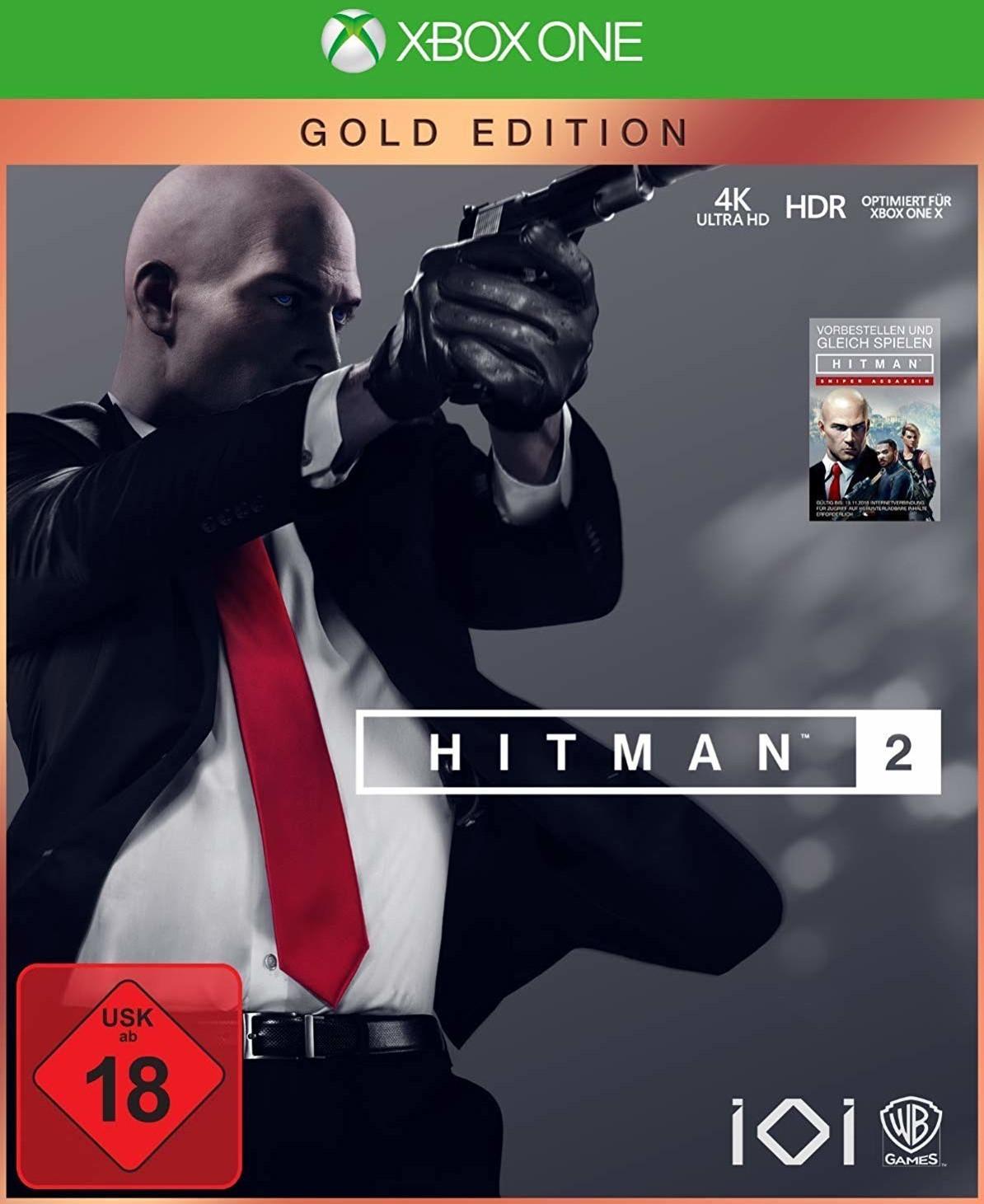 Hitman 2 Gold Edition (Xbox One & PS4) für je 19,99€ (GameStop)