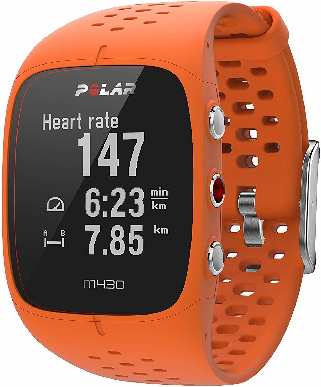 Polar M430: Laufuhr (GPS, Aktivitätssensor, Vibrationsalarm, 8h Akku, WD30 Wasserdicht)
