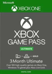 3 Monate Xbox Game Pass Ultimate (Xbox One/PC) für 9,75€ (Fnac FR)