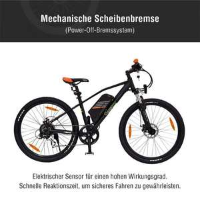 Sachsenrad E-Racing Bike R6 / 26 Zoll E-Bike Fehler