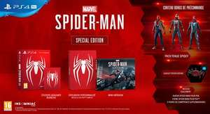 Marvel's Spider-Man Special Edition (PS4) für 33,81€ (Fnac FR)