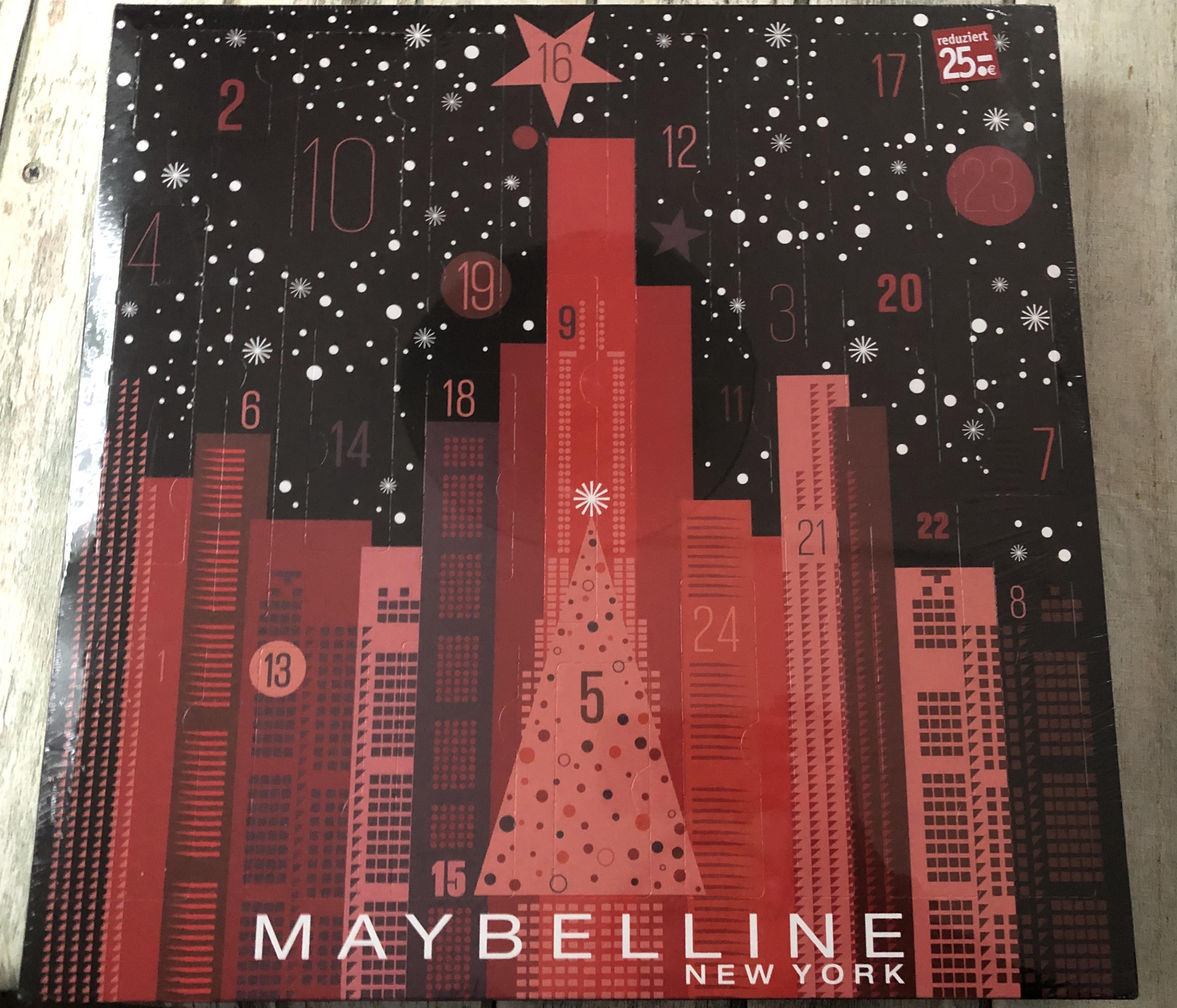 Rossmann OFFLINE deutschlandweit (?) Maybelline Adventskalender