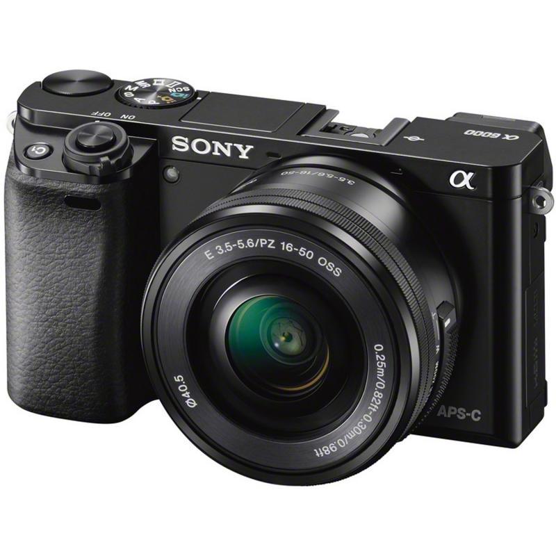 [Hartlauer Österreich] Sony Alpha 6000 + 16-50 Kit Objektiv schwarz