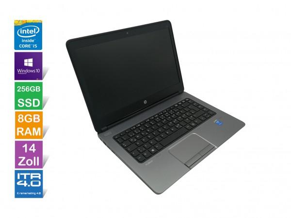 HP ProBook 640 G1 | 8GB RAM | i5 | 256 GB SSD | Gebraucht mit 12 Monate Gewährleistung