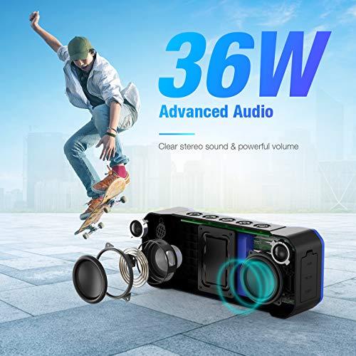 POWERADD Musicfly II Bluetooth Lautsprecher über Amazon USA per Kreditkarte