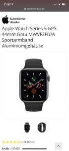 Apple Watch Series 5 44mm GPS ohne Cellular