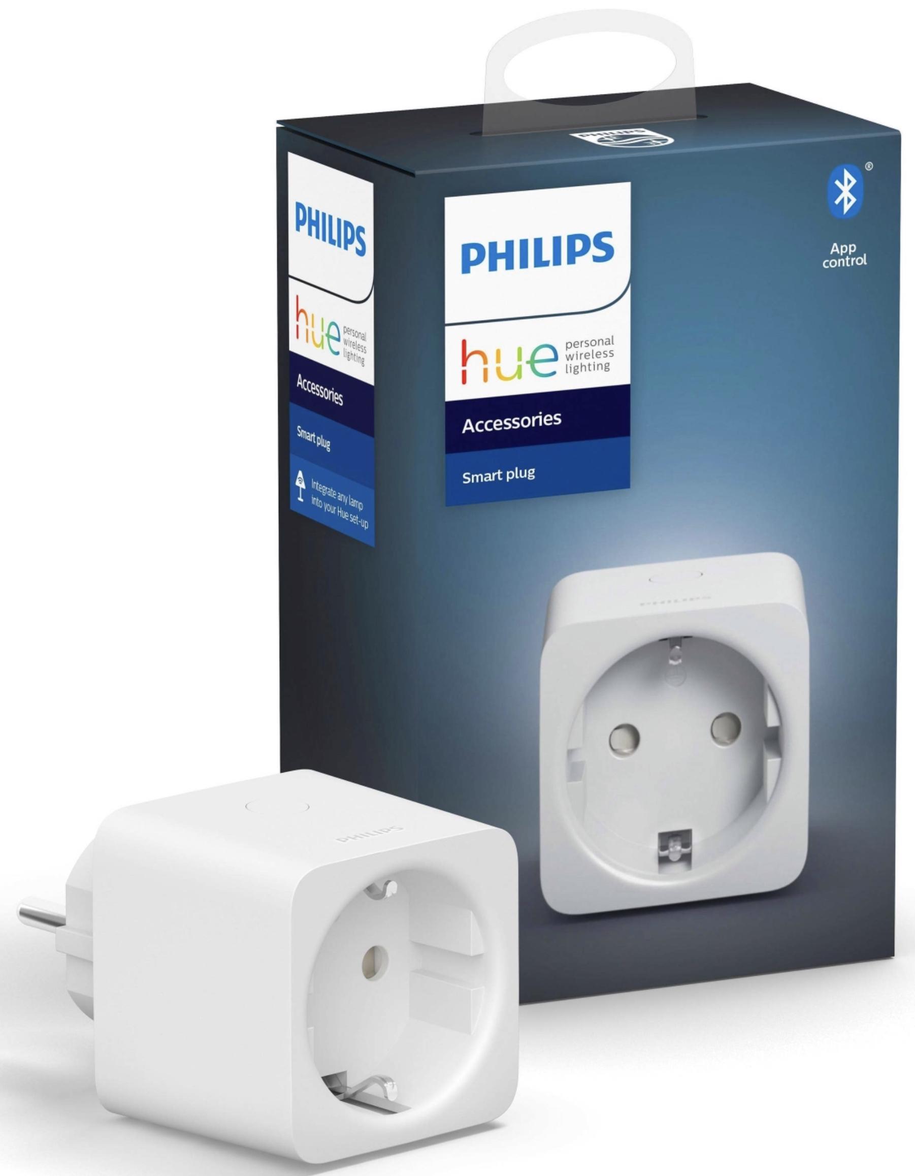 Philips Hue Schalter SmartPlug Steckdose Weiß für 16,98€ mit Paydirekt / mit Payback für 12,18€ möglich!