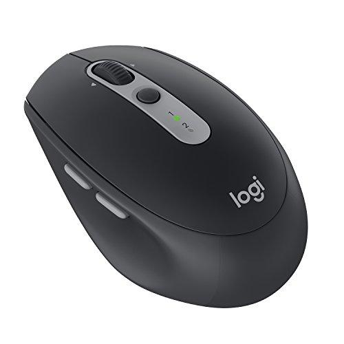 Logitech M590 Silent kabellose Maus black graphit