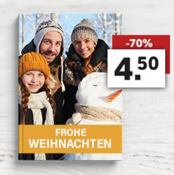 70% Rabatt auf das Hardcover Fotobuch mit 24 Seiten bei [Lidl Fotos]