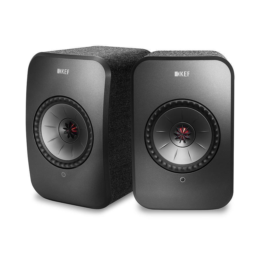 KEF LSX - WLAN Lautsprecher - Paar - Schwarz - auch andere Farben im Angebot.