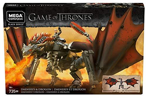 [Amazon.com] Mega Construx GKG97 - Game of Thrones Daenerys und Drogon für ca. 59,91 Euro - Klemmbausteine